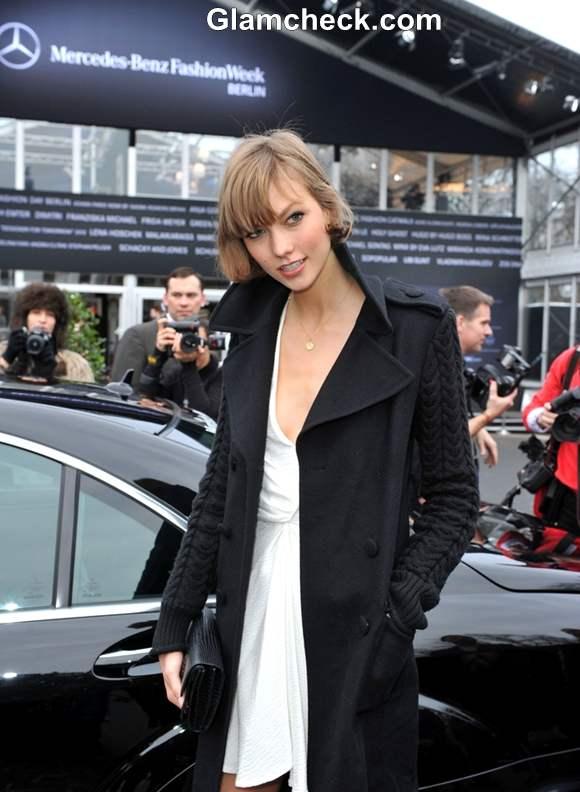 Karlie Kloss  Mercedes Benz Fashion Fall Winter 2013-2014
