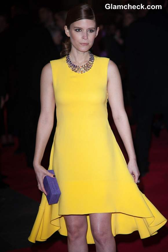 Kate Mara Brightens Up Red Carpet In Sexy Yellow Dress