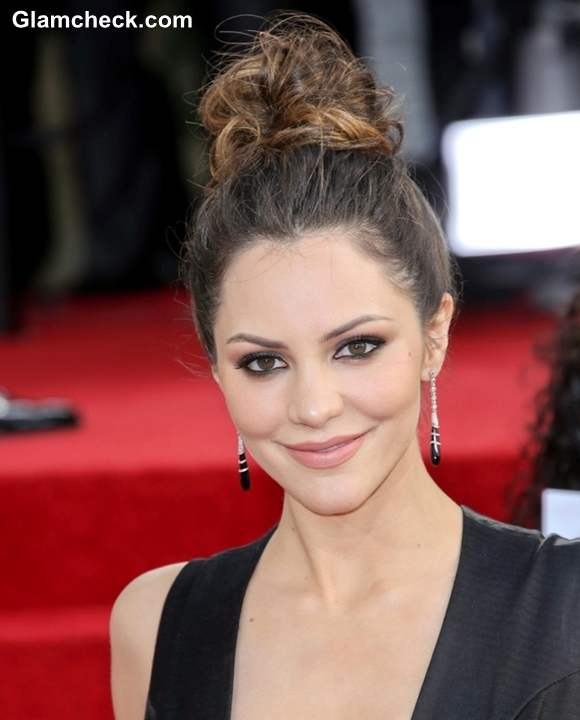 Katharine McPhee Hairstyle at 70th Anuual Golden Globe Awards