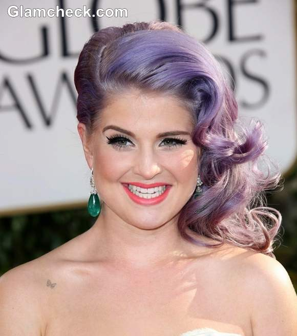 Kelly Osbourne Hairstyle at 70th Anuual Golden Globe Awards