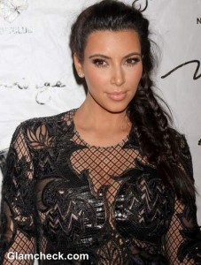 Who's That Girl: Kim Kardashian In A See-Through Lace Dress At Vegas