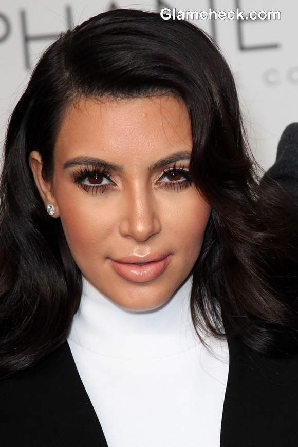 Kim Kardashian at Stephane Rolland Show at Paris Fashion Week S-S 2013
