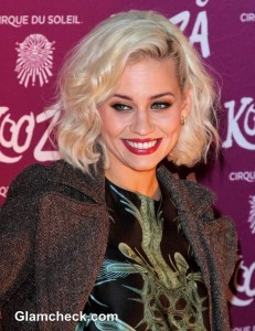 Kimberly Wyatt Entices The Onlookers At Cirque Du Soleil VIP Night In London