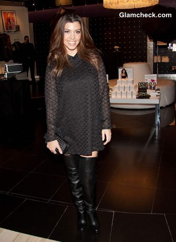 Kourtney Kardashian Visits Kardashian Khaos Meet & Greet with Fans