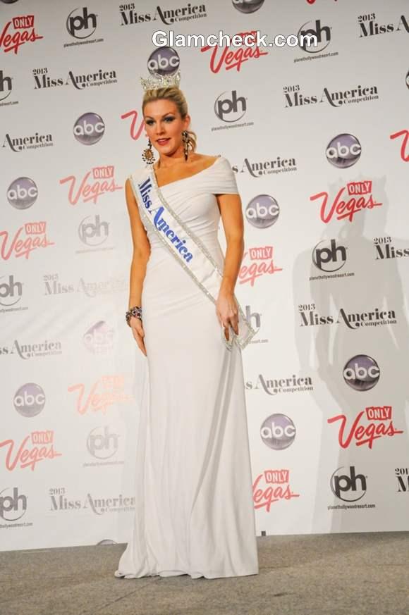 Miss America 2013  Mallory Hagan