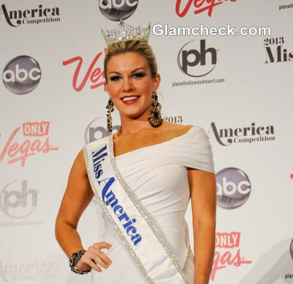 Miss America 2013 winner Mallory Hagan