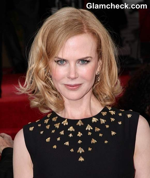 Nicole Kidman Hairstyle at 70th Anuual Golden Globe Awards