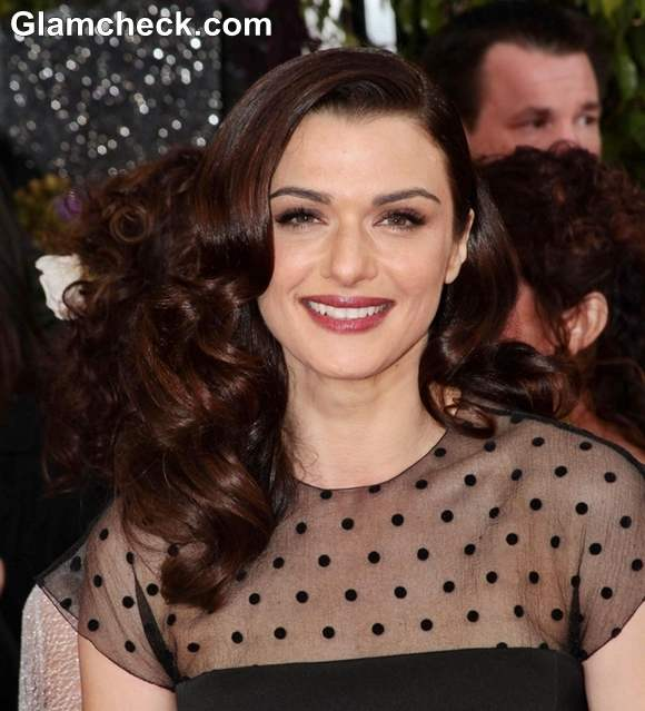 Rachel Weisz Hairstyle at 70th Anuual Golden Globe Awards