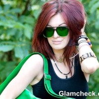 Rock The Look sexy Rebel in Emerald Green