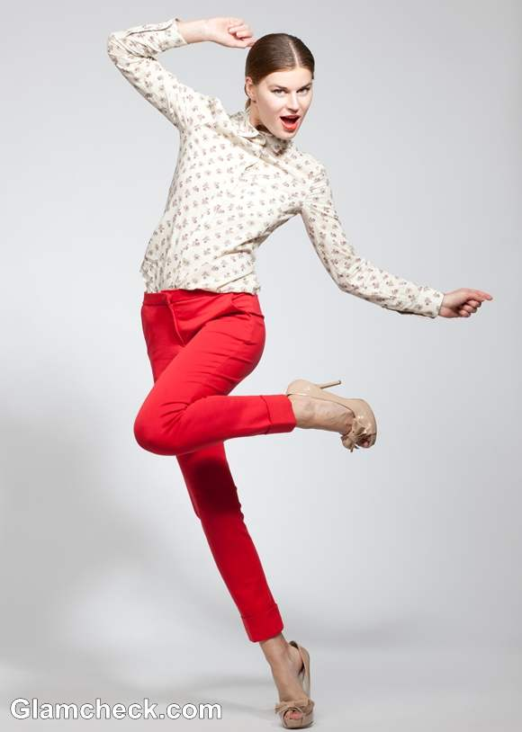 Rock the Look Semi-Formal with Red Pants