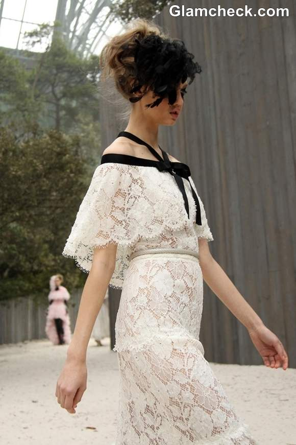 S-S 2013 Paris Fashion Week Chanel Haute-Couture