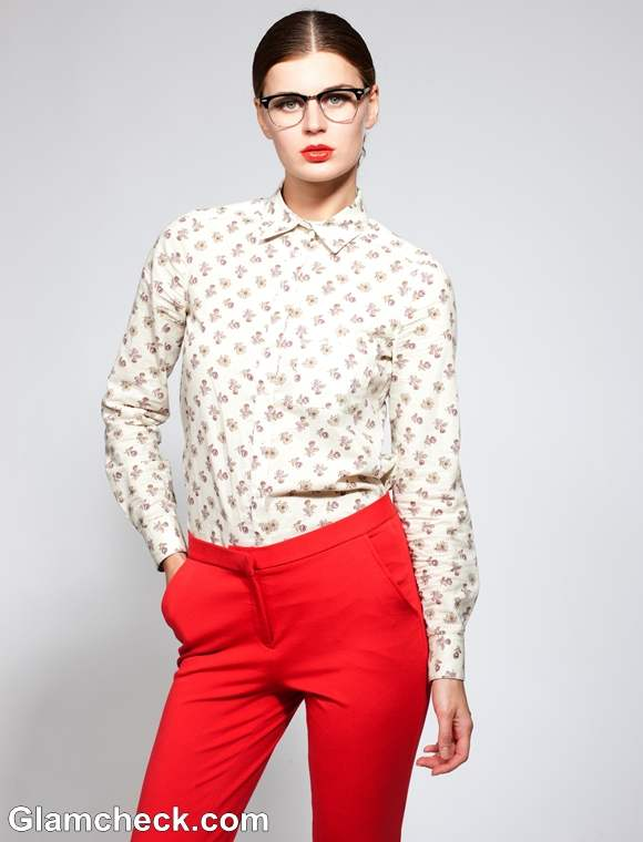 Semi-Formal look with Red Pants