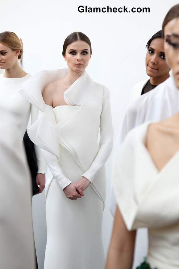 Stephane Rolland show at Paris Fashion Week S-S 2013 backstage