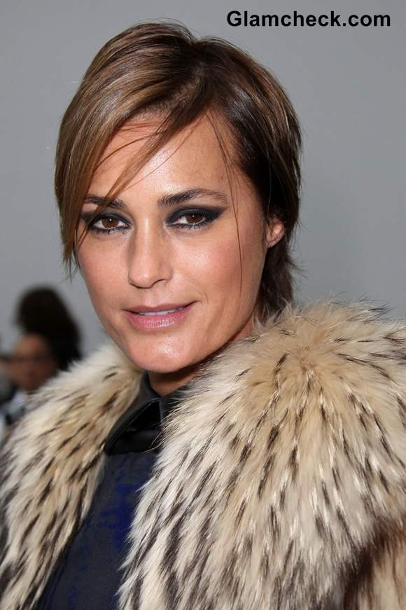 Yasmin Le Bon at Paris Fashion Week S-S 2013 Stephane Rolland show