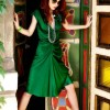 how to wear Emerald Trend 2013 head to toe