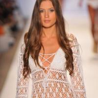 Anna Kosturova S-S 2013 Crochet Swimwear Collection