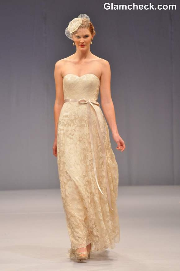Anne Barge Bridal show Fall 2013