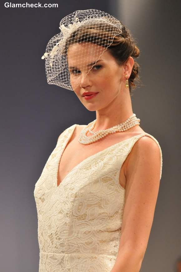 Anne Barge bridal show for Fall 2013 during NY Bridal Fashion Week
