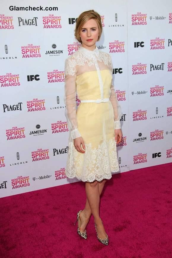 Brit Marling at 2013 Film Independent Spirit Awards