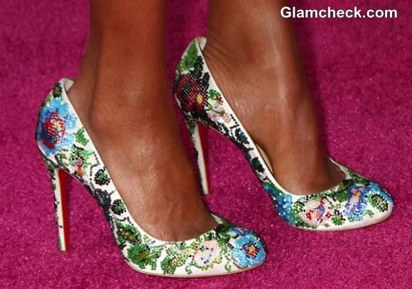 Celeb Footwear at 2013 Film Independent Spirit Awards Kerry Washington