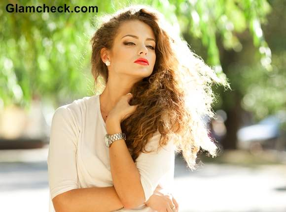 Classic Summer Look hairstyle makeup