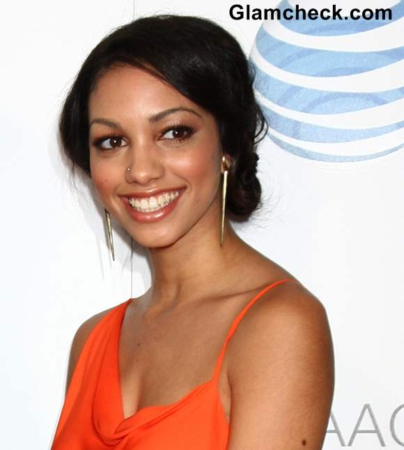 Corinne Foxx NAACP Awards 2013