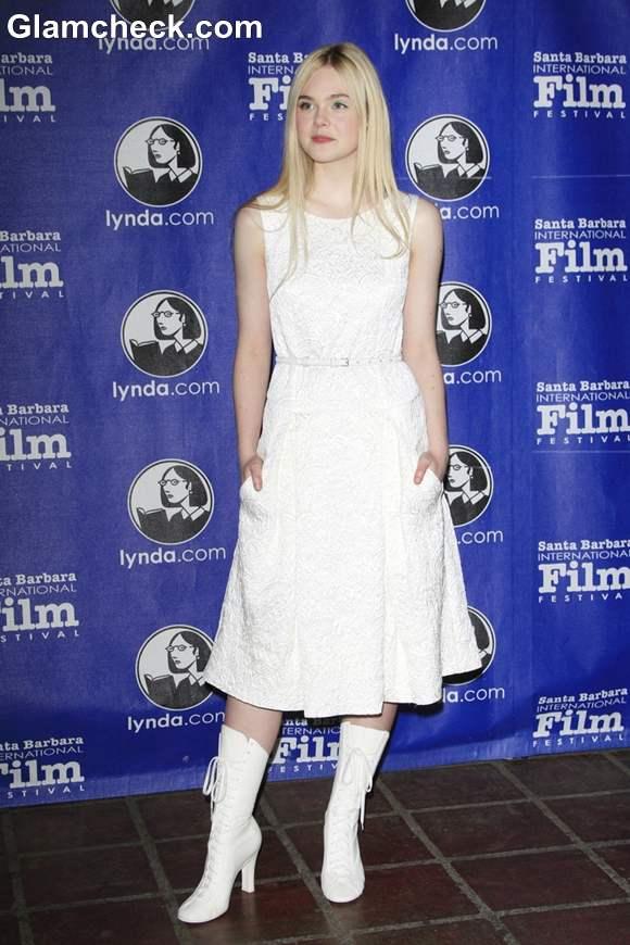 Elle Fanning 2013 Santa Barbara Awards Show