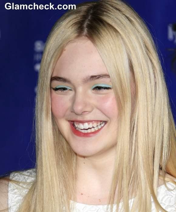 Elle Fanning makeup Santa Barbara Awards Show 2013