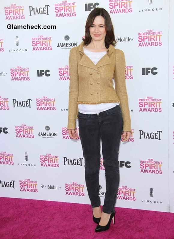 Emily Mortimer at 2013 Film Independent Spirit Awards