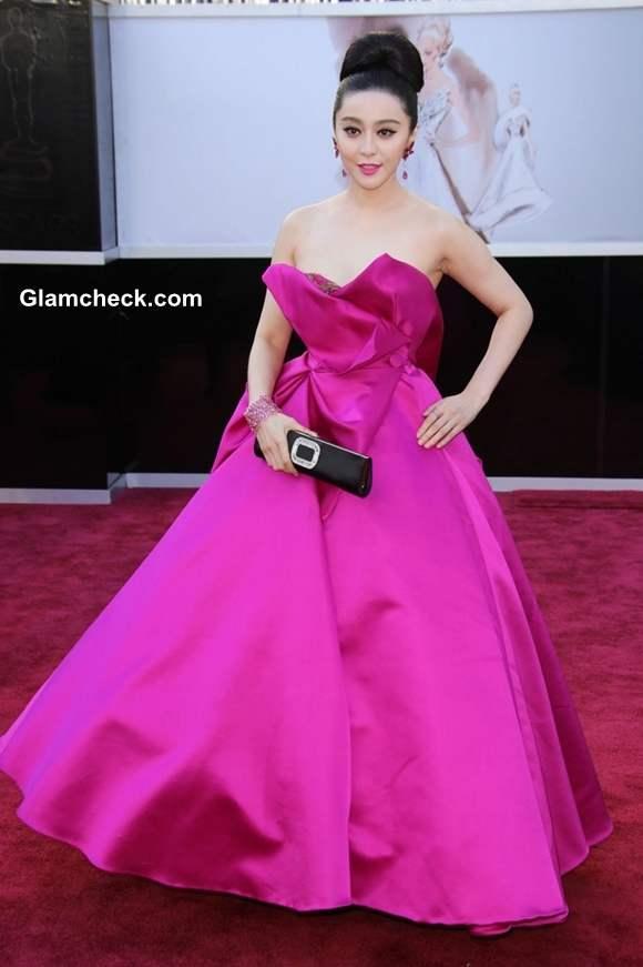 Fan Bingbing gown at Oscar 2013