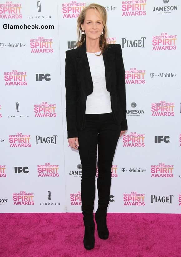 Helen Hunt at 2013 Film Independent Spirit Awards