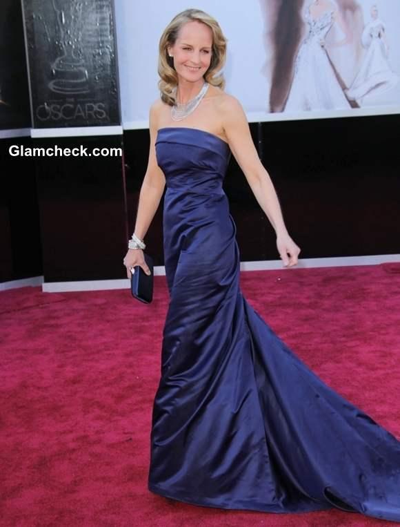 Helen Hunt gown at Oscar 2013
