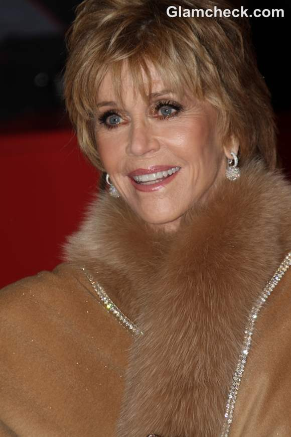 Jane Fonda Oozes Hollywood Glamour at Film Festival Opening Party