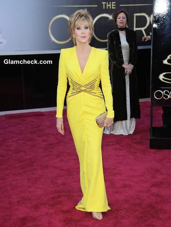 Jane Fonda gown at Oscar 2013
