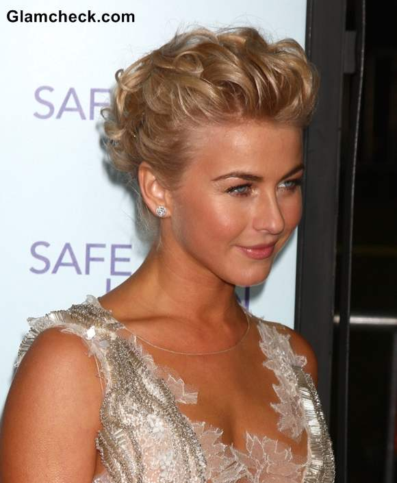 Julianne Hough 2013 updo hairstyle Julianne Hough Hair DresserJulianne Hough Short Hair Updo