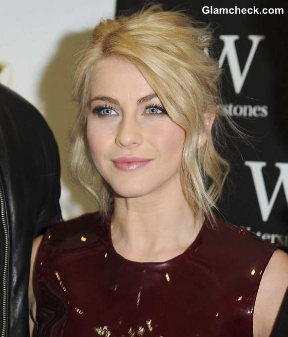 Julianne Hough Steals The Show Mouth Watering Burgundy Gown