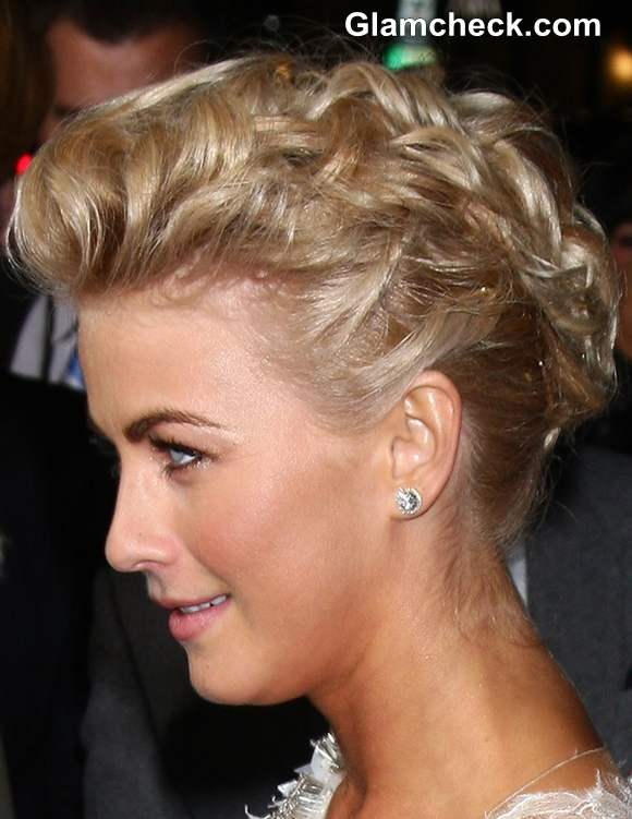 Julianne Hough updo hairstyle 2013
