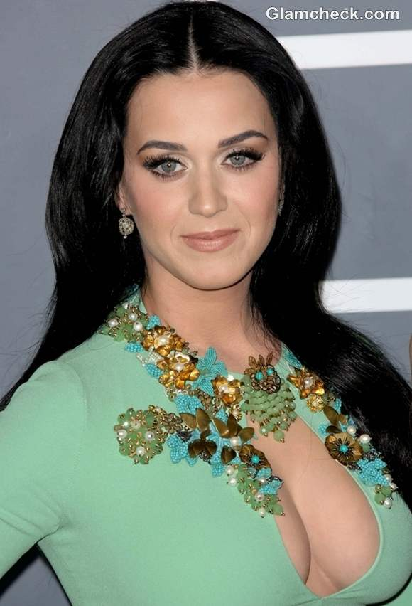 Katy Perry Hairstyle at 2013 Annual Grammy Awards