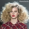 Marc Jacobs Fall-Winter 2013 HairstyleMakeup - Voluminous Curls Red Lips