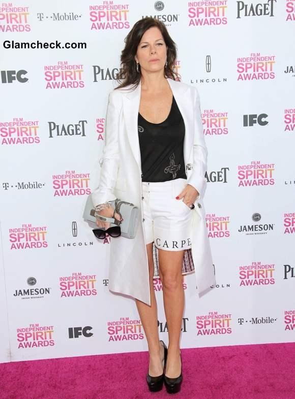 Marcia Gay Harden at 2013 Film Independent Spirit Awards
