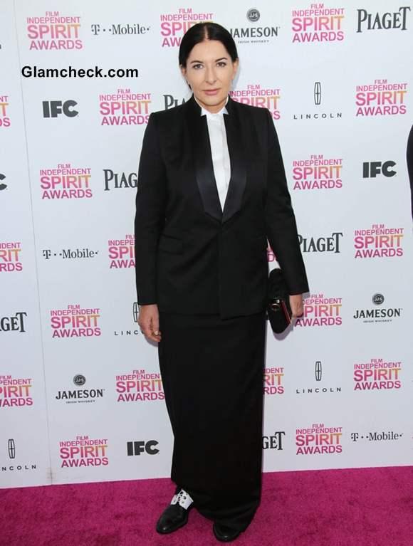 Marina Abramovic at 2013 Film Independent Spirit Awards