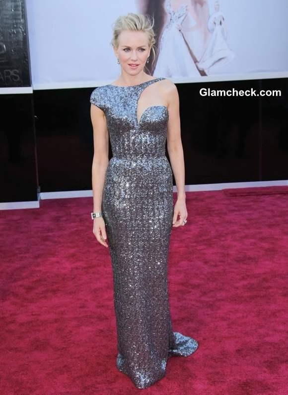Naomi Watts Gown at Oscars 2013