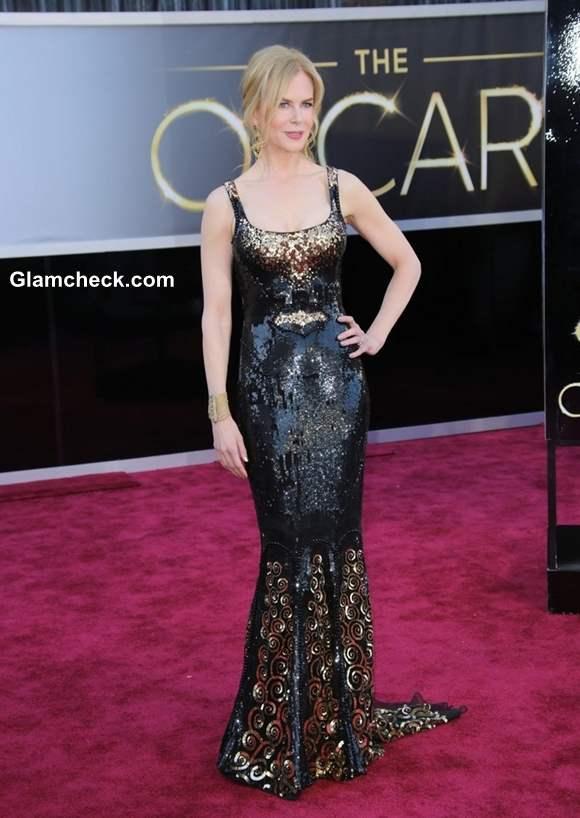 Nicole Kidman Gown at Oscars 2013