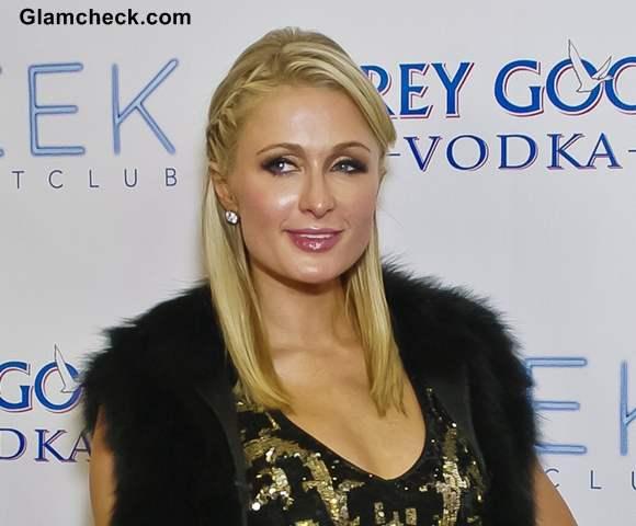 Paris Hilton Rocks Milmaid-esque Braids at BDay Bash