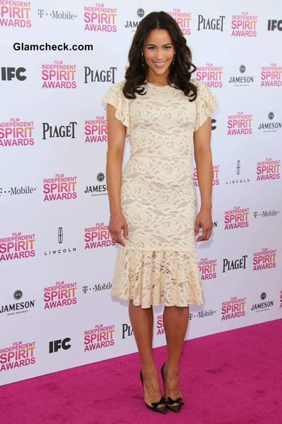 Paula Patton at 2013 Film Independent Spirit Awards