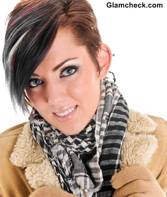 Pixie haircut winters casual hairstyle