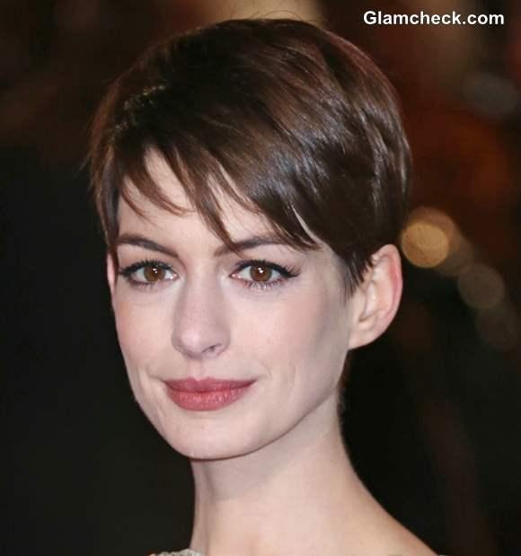 Short Pixie Hairstyles Anne Hathaway