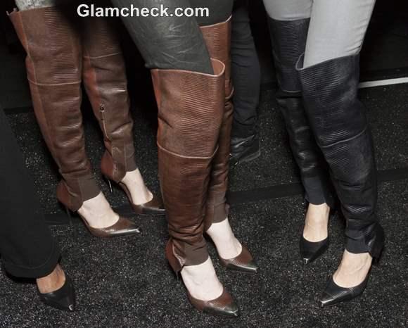 BCBC Max Azria Fall-Winter 2013 Stiletto Leather Boots