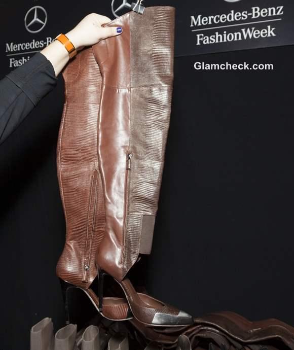 BCBG-MAX-AZRIA  Fall-Winter 2013 Stiletto Leather Boots