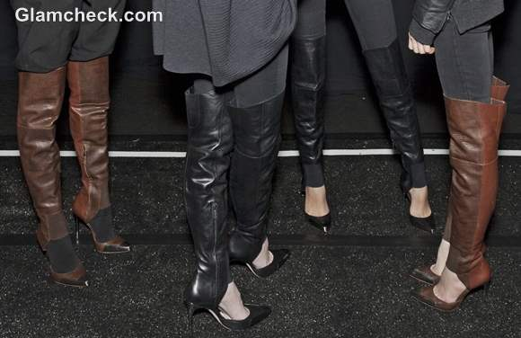 Footwear trends Fall-Winter 2013 Stiletto Leather Boots